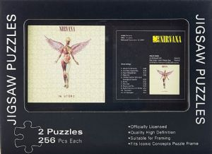 Nirvana In Utero Double Jigsaw Puzzle In Tin (icc)